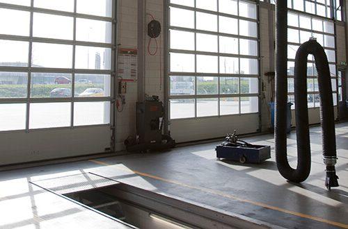 Pramoniniai aliuminio šilti vartai ALU 40